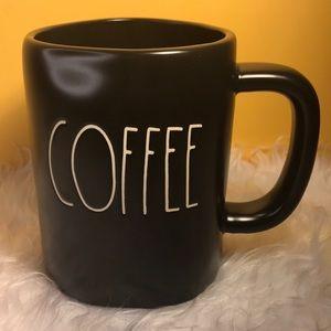 RAE DUNN BLACK COFFEE MUG LIMITED EDITION